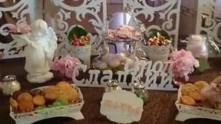 Сладкий стол на свадьбу Candy Bar