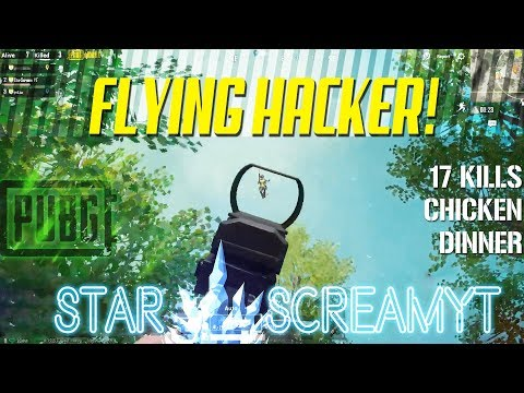 OP GROZA SPRAY CONTROL ON FLYING HACKER ||  PUBG MOBILE || HIGHLIGHT
