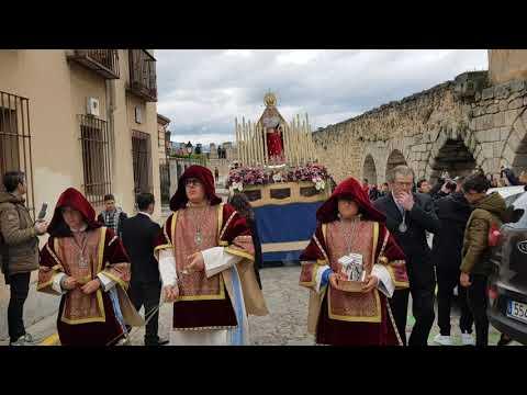 Semana Santa Segovia 2019. Procesión del Encuentro 21/4/2019 (2)