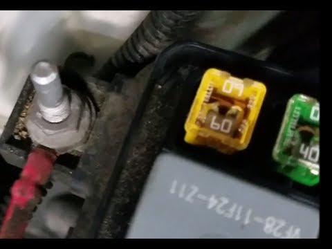 How to fix ChevyGM Electronic Power Steering blown fuse  YouTube