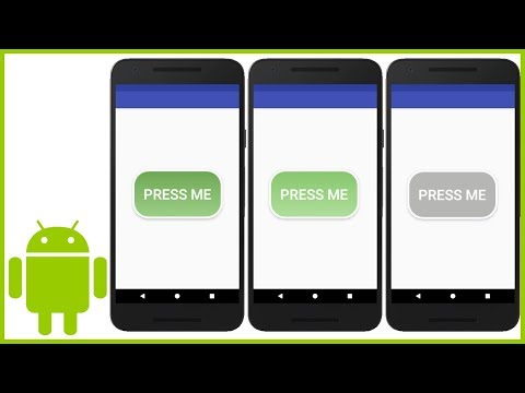 How to Create a Custom Button (With XML ShapeDrawables) in Android
