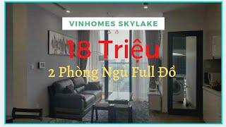 Căn Hộ 2 Phòng Ngủ Full Đồ Giá Rẻ Cho Thuê Tại Chung Cư Vinhomes Skylake Phạm Hùng