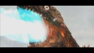 シン・ゴジラ第3形態に熱線を吐かせてみたAtomic breath by godzilla 3rd form thumbnail