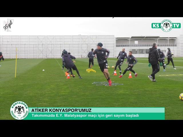 Takımımızda E.Y. Malatyaspor maçı hazırlıkları devam etti
