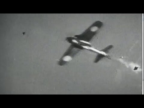Operation Hailstone US Navy Attacks Truk Island Naval Action Aerial Combat Footage WW2 w/ Sound