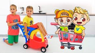 Download 블라드와 니키 쇼핑 게임 | 아이들을위한 재미있는 동영상