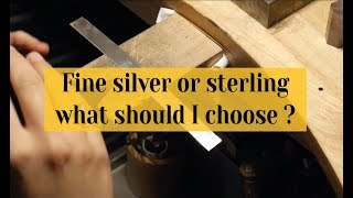 Differences between sterling silver and fine silver • Agnes Bijouterie