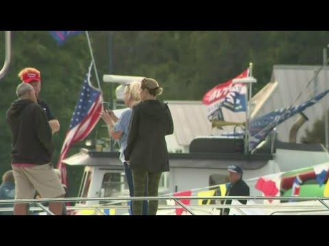 Donald Trump Jr., Kid Rock Draws Crowd For Rally In Harrison Township