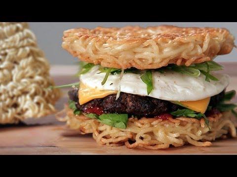 The Ramen Burger Recipe Is Here, Cancel Dinner Plans