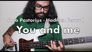 Jaco Pastorius to Hadrien Feraud to Me/You | 3 KILLER BASS GUITAR LICKS With Breakdown |