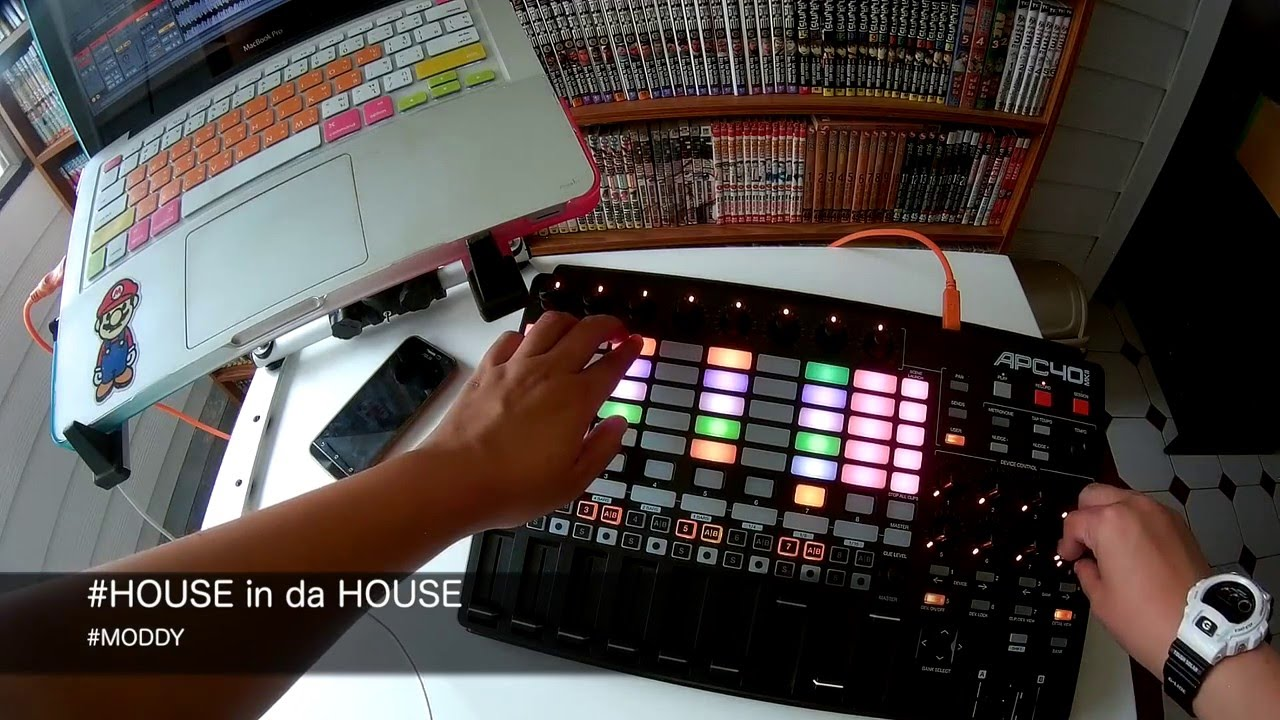 House in da House with AKAI APC40 MK2