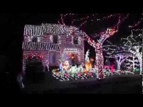 The Woehlemann's - ABC's The Great Christmas Light Fight - YouTube