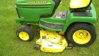 SOLD John Deere 325 L&G Tractor w/ 54