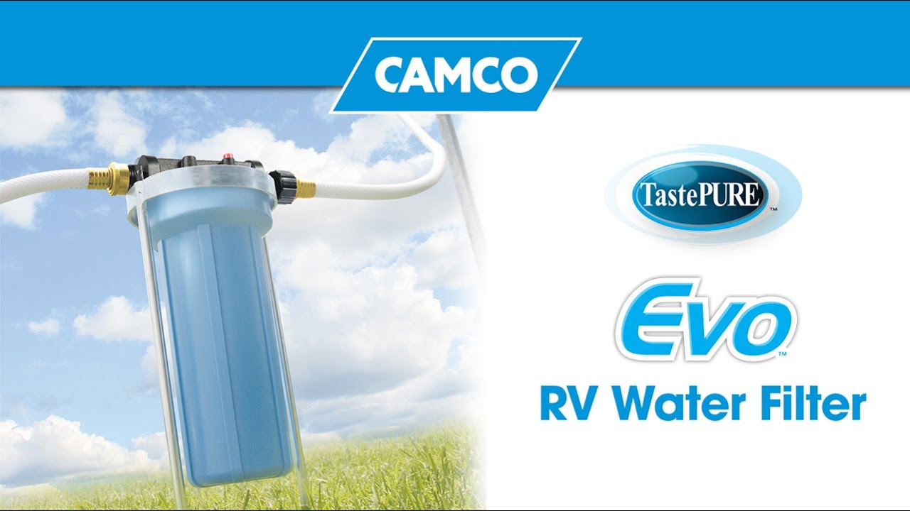 Tastepure Kdf Carbon Rv Water Filter Camco 40043 Youtube