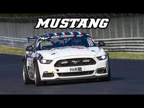 There's No Better Sound Than a Mustang on the Nürburgring