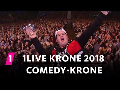 Chris Tall gewinnt die Comedy-Krone! | 1LIVE Krone 2018
