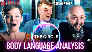 Netflixs The Circle Body Language Is Insane Cat-fishing Causes Silent Rage