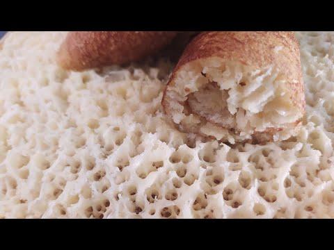 crêpes-mille-trous-(baghrir)-:-recette-réussie-à-100%-بغرير-ناجح-avec-l'astuce-pour-avoir-les-trous