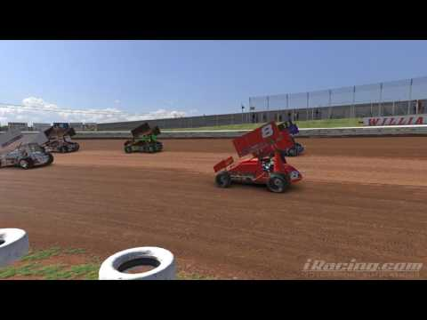 iRacing Dirt-360 sprintcar @Williams Grove Speedway