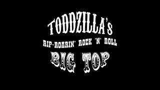 Toddzilla's Rip-Roarin' Rock-N'-Roll Big Top Promotional Video