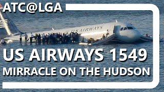 ATC@LGA - Flight 1549 [COMPLETE TRANSCRIPT] (by Aldo Benitez) thumbnail