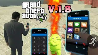 GTA 5 FOR ANDROID | VERSION 1.8 | WITH CHEAT CODES & DOWNLOAD LINK | Clashers War & Tech (2018)