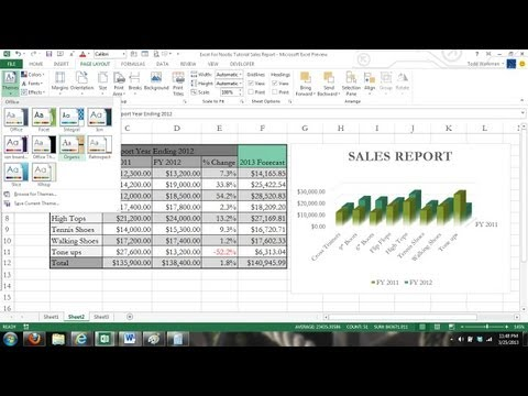 Microsoft Excel Tutorial For Beginners Crash Course Data Entry Formulas Formats Charts