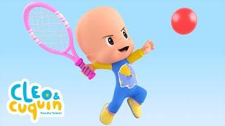 cleo   cuquin   la pelota  t1   ep1  familia telerin i dibujos animados para ni  os en espa  ol