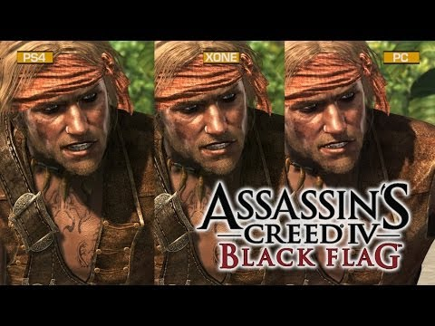 Assassin's Creed IV: Black Flag Graphics Comparison