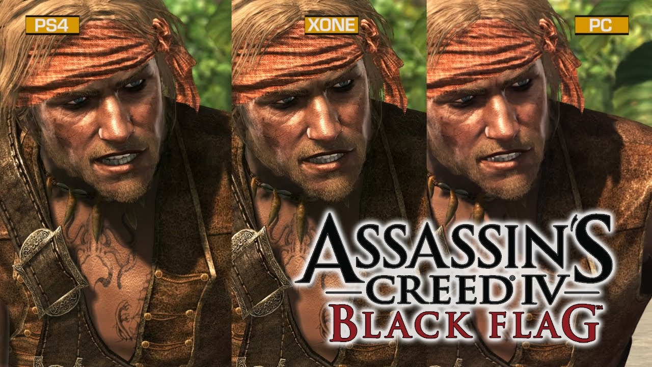 Assassin S Creed Iv Black Flag Graphics Comparison Youtube