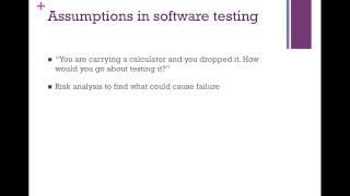 [5-min software testing tips-2] Assumptions