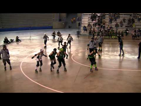 comtv.ca - SPORTS: Gas City Rollers VS Lakeland Lady Killers @ Calgary Olympic Oval (part 2/2)