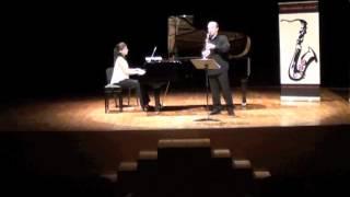 Sonata, F. Decruck. Teror Saxophone Academy 2012
