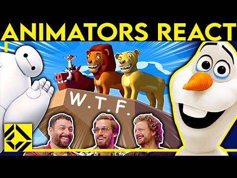 Animators React to Bad & Great CGi