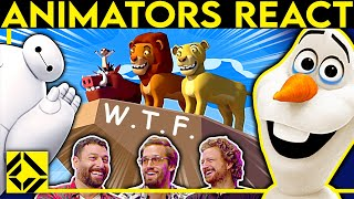 Animators React to Bad & Great CGi
