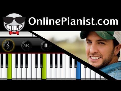 Luke Bryan - Do I - Piano Tutorial