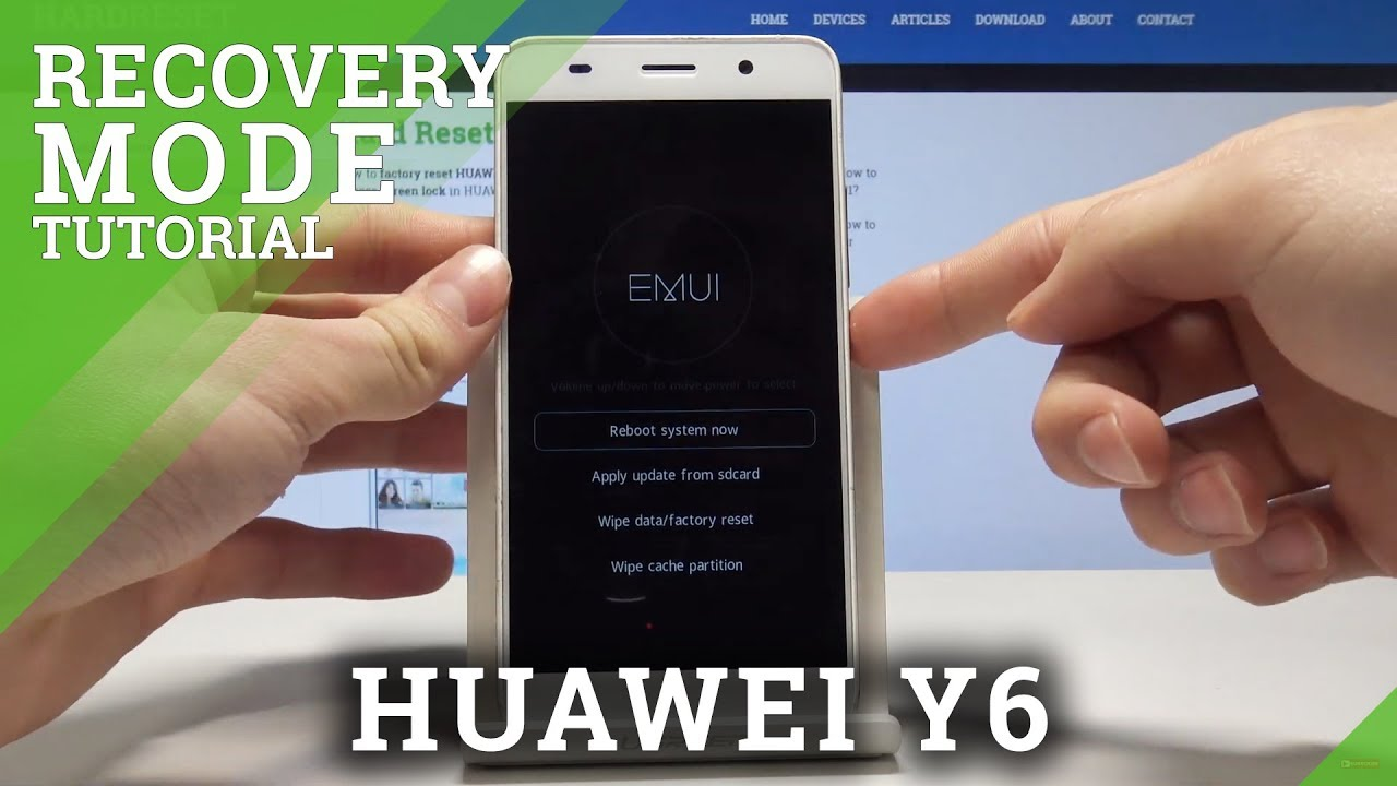 Recovery Mode HUAWEI Y6 SCL-L01 - HardReset info