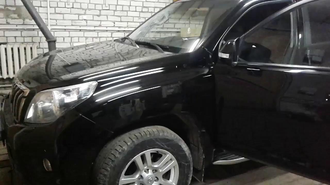 Toyota Land Cruiser Prado разборка водительской  карты двери своими руками