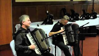 Accordion festival, Sümeg, 2012 *** Part 1 *** Moger – Navracic performance