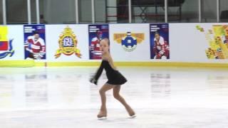 Катрин Никольская. 1 место. 3 юношеский разряд.