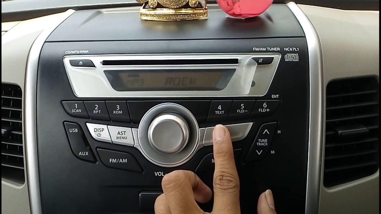 Wagon R Vxi 2016 Interior Youtube