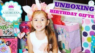 DESPACHETAM CADOURILE DE LA ZIUA MEA BIRTHDAY GIFTS UNBOXING Miss Laureana