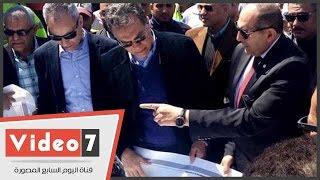 بالفيديو.. وزير النقل: إنشاء محور كوبرى جرجا العلوى بتكلفة 490 مليون جنيه