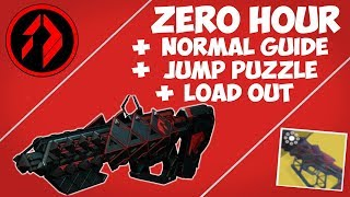 Destiny 2 | OUTBREAK PERFECTED ZERO HOUR NORMAL GUIDE (Jumping Puzzle, Load Out, Boss Fight)