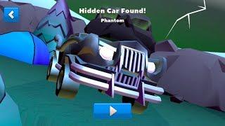 Crash of Cars Hidden Mansion Phantom Car Found !!