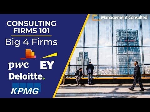 Consulting Firms 101: Big 4 Firms (Deloitte, PwC, KPMG, Ernst & Young) (Video 2 of 3)