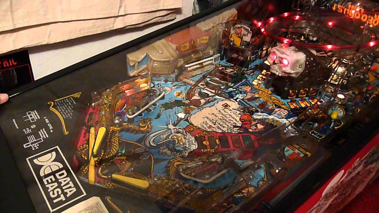 hook pinball machine