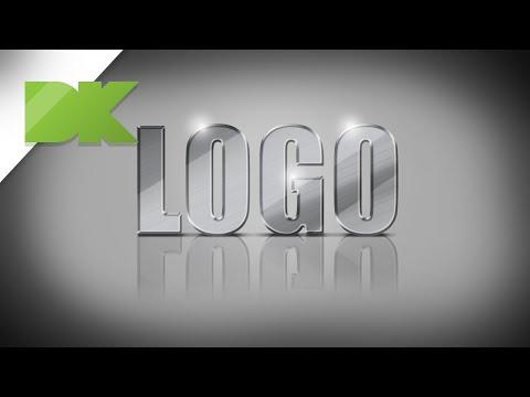 Create A Metallic Texture On Your Logo Or Text - Photoshop - Tutorial 4