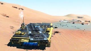 BIGGEST DESERT AIRCRAFT CARRIERS AT WAR | Homeworld: Deserts of Kharak Gameplay