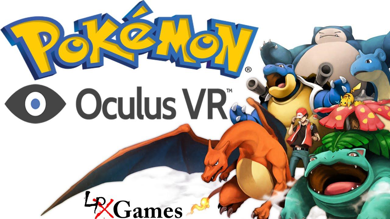 POKEMON MASTER!   Pokemon VR Oculus Rift Demo - YouTube